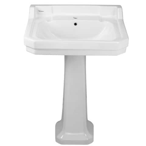 Whitehaus Collection Isabella Pedestal sink