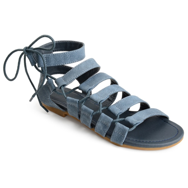 Journee Collection Cleo ... Women's Gladiator Sandals We5NK0Lvmf
