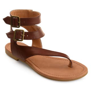 e15583ebd0e721 Buy Brown Women s Sandals Online at Overstock