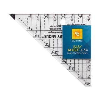 """EZ Acrylic Template Easy Angle 4.5"""""""