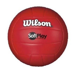 Wilson Red Soft Play Volleyball
