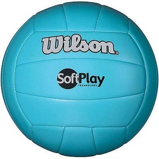 Wilson Blue Soft Play Volleyball