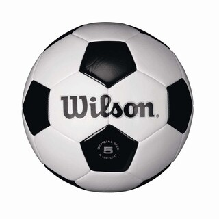 Wilson Synthetic Leather Soccer Ball Size 4