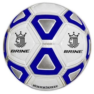 Brine SBATK4 Royal Blue Attack Soccer Ball, Size 5