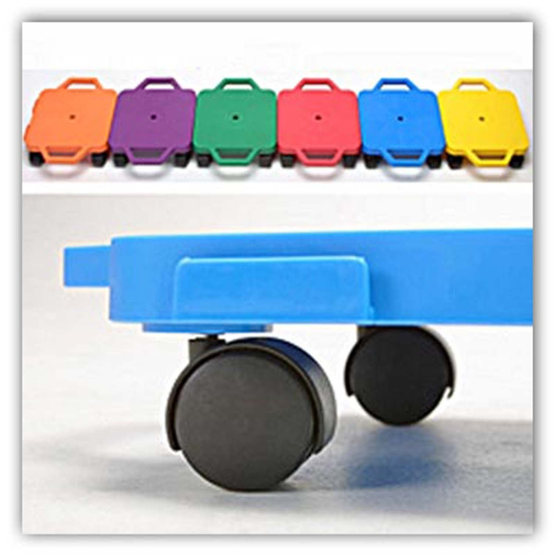 Six Cramer Interlocking Scooter Boards, 12-inch x 12-inch...