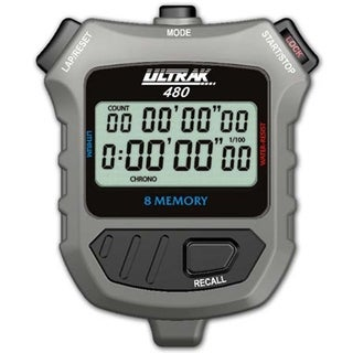 Ultrak 480 8 Lap Memory 2 Line Display Stopwatch