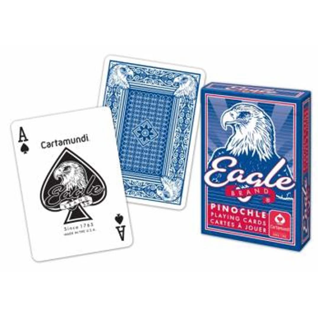 Carta Mundi ONE Case of Pinochle Cards 12 DZ = 144 Decks