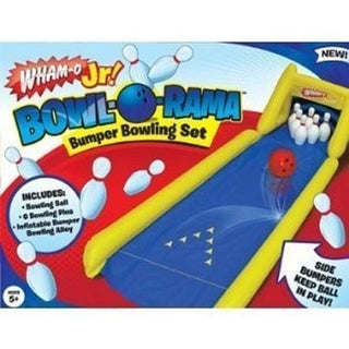 Wham-O Bowl-o-rama Bumper Bowling Game Kids Toy