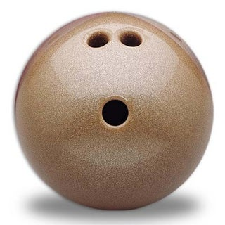 Cosom Bowling Ball (Gold, 4 lb. 3 Finger, Plastic Ball)