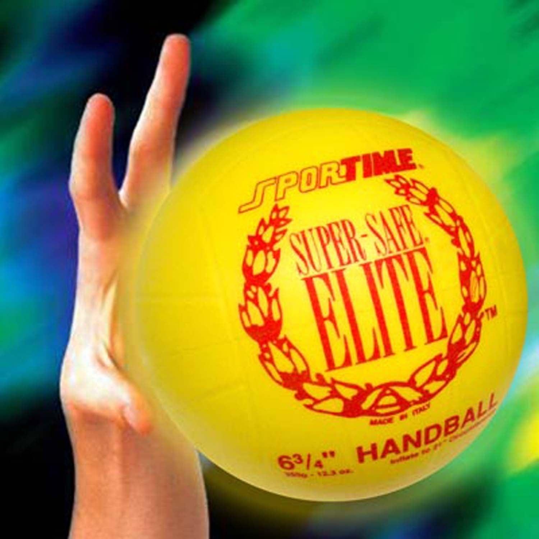 "School Specialty Yellow 6.75"" Super Safe Elite Team Handball"