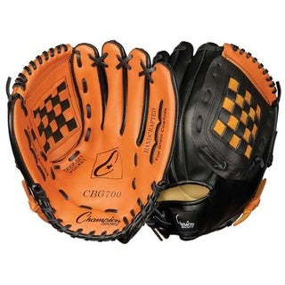 Tan 12-inch Baseball and Softball Fielder's Glove (Worn on Left Hand)