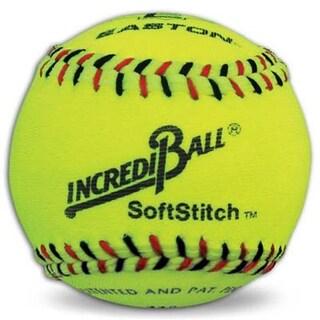 """Easton Neon Yellow 12"""" Easton Incrediball SoftStitch Softball"""