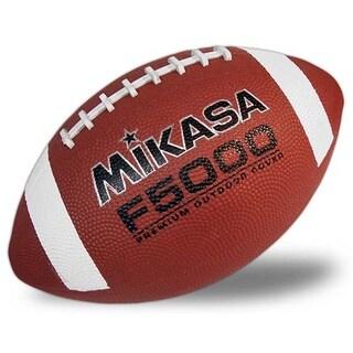Mikasa F5000 Official Size Tan Premium Rubber Football