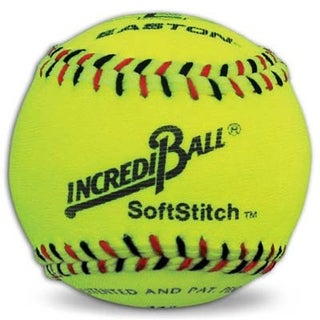 """Easton Neon Yellow 11"""" Easton Incrediball SoftStitch Softball"""