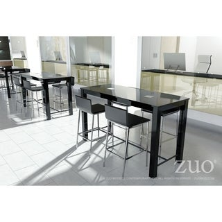 Odin Black Wood Bar Table