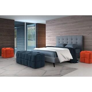 Checks Orange Woven Bench
