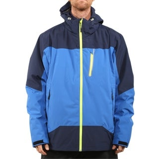 Pulse Men's Blue Navy Swiss Systems 3 in 1 Ski/Snowboard Jacket
