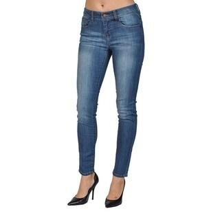 C'est Toi Skinny Medium Wash Denim Jeans