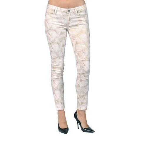 Women's Printed Floral Skinny Jeans