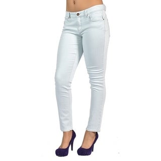 Cache Womens Fashion Skinny Jeans Icy