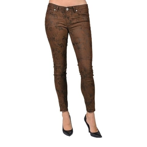 Machine Brand Skinny Fashion Brown Pants