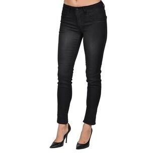 C'est Toi Black Denim Skinny Jeans