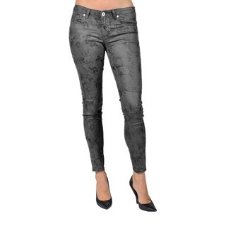 Machine Brand Skinny Fashion Black Pants