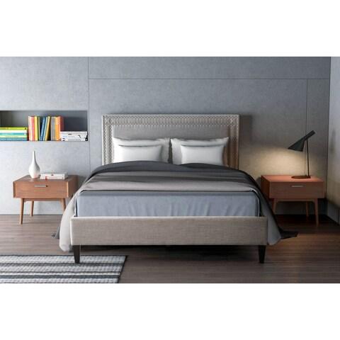Renaissance King Bed Dove Gray