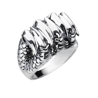 Sterling Silver Dragon Claw Ring for Father's Day, Anniversary and Birthday