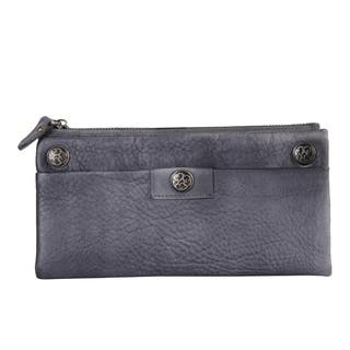 Diophy Vintage Genuine Leather Ornament Wallet|https://ak1.ostkcdn.com/images/products/18515991/P24625923.jpg?impolicy=medium