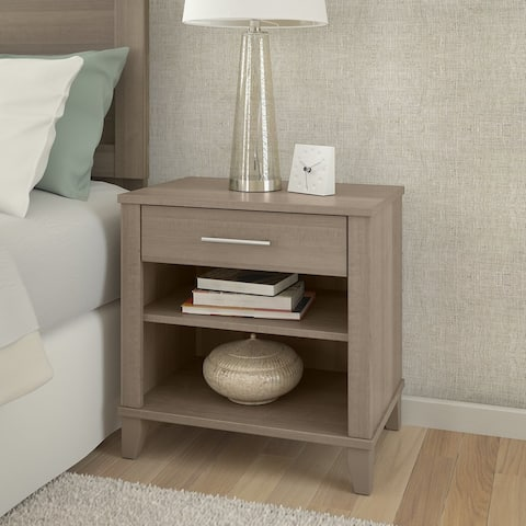 Somerset Ash Grey Nightstand (As Is Item)