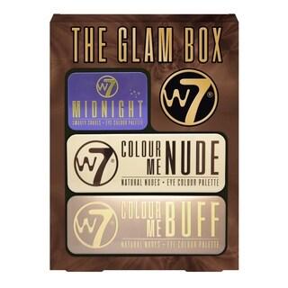 W7 The Glam Box 3 Piece Eyeshadow Palette Set