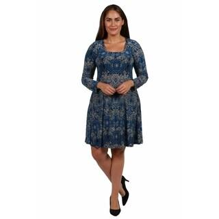 24/7 Comfort Apparel London Plus Size Dress (Option: 5x)