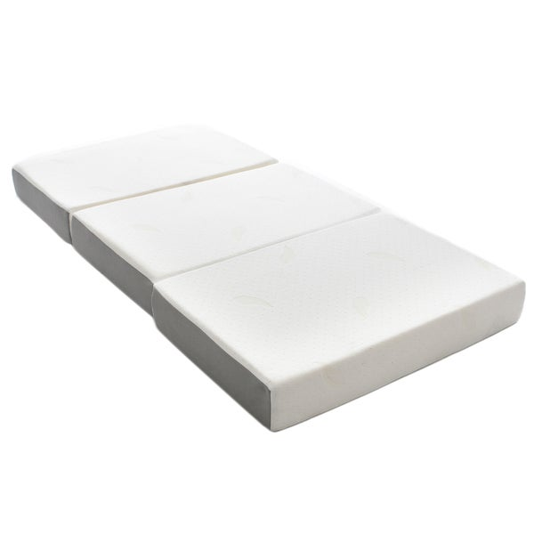 twin size mattress foam. Milliard 6-inch Memory Foam Tri-fold Twin-size Mattress With Removable Cover Twin Size O