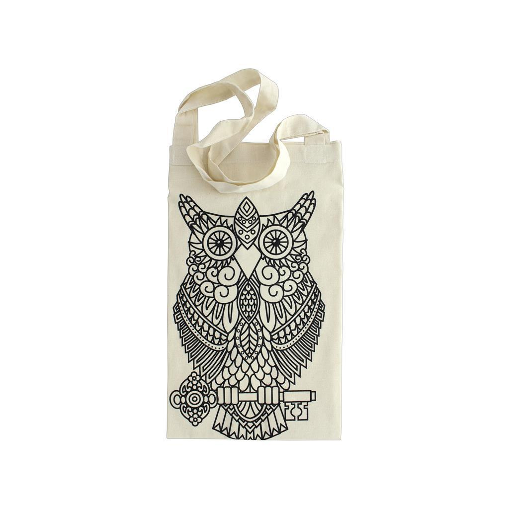 The Bead Giant Tote Bags Owl (Tote Bags Owl), Women's (co...
