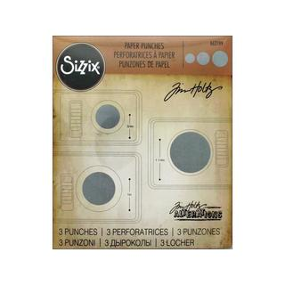 Sizzix THoltz Paper Punch Set Circles 3pc|https://ak1.ostkcdn.com/images/products/18516493/P24626579.jpg?_ostk_perf_=percv&impolicy=medium