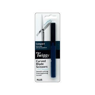 Plus Twiggy Curve Blade Scissor Compact Black