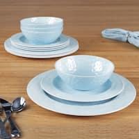 American Atelier Blue 12 Pc dinner set