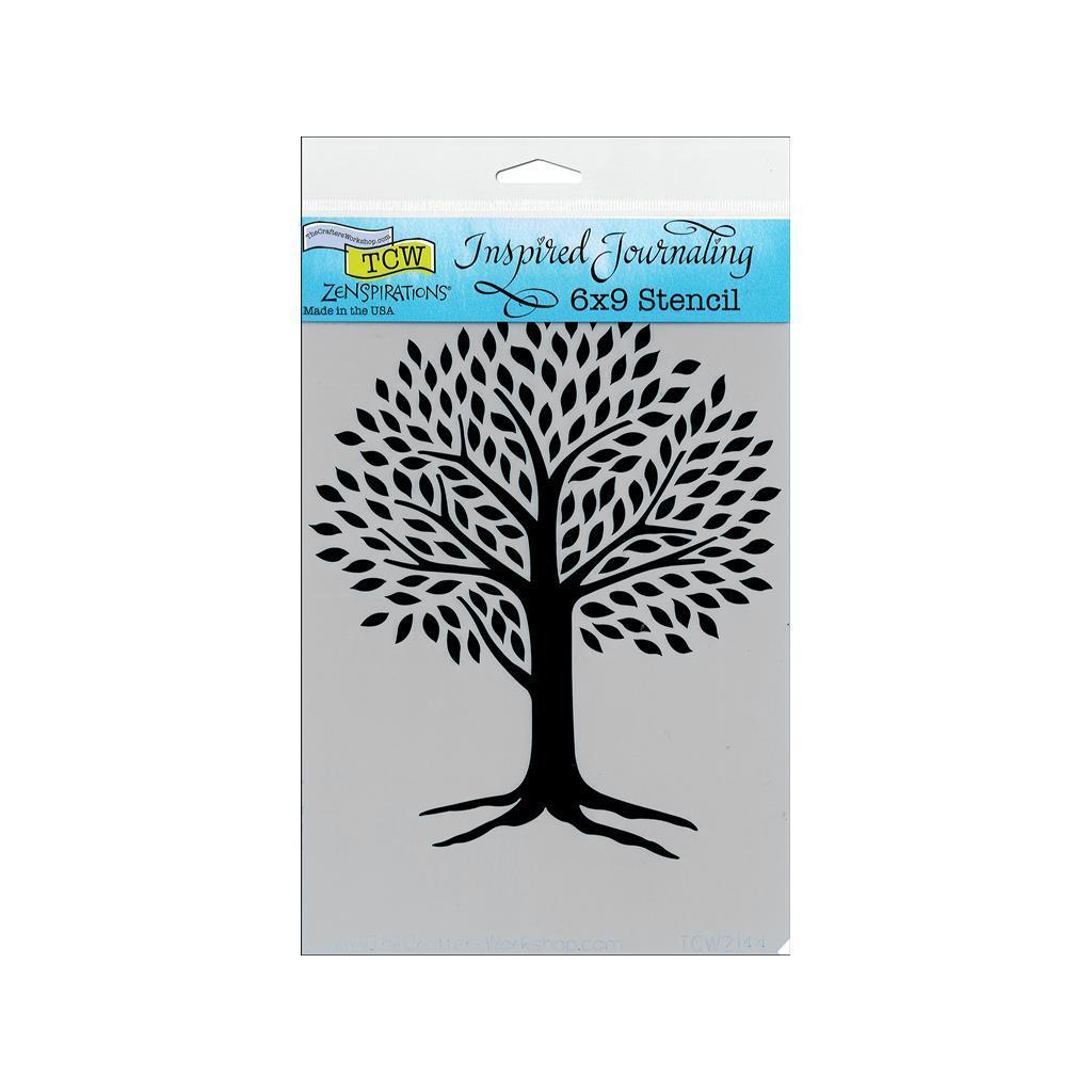 Crafter The Crafters Workshop Stencil 6x9 Tree Of Life (S...