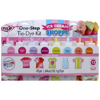 Tulip One Step Tie Dye Kit 8 Color Mini Ice Cream