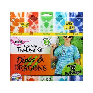 Tulip One Step Tie Dye Kit 5 Color Mini Dino&Dragn