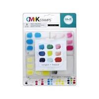We R Memory CMYK Stamp Bright & Happy