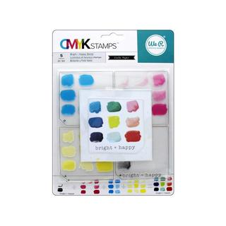 We R Memory CMYK Stamp Bright & Happy