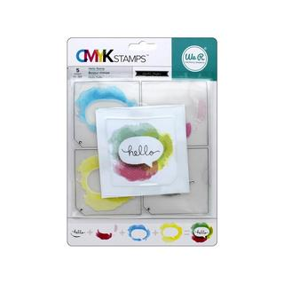 We R Memory CMYK Stamp Hello