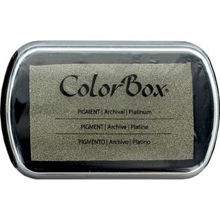 ColorBox Pigment Inkpad Full Size MetallicPlatinum