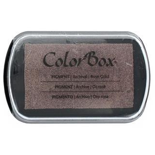 ColorBox Pigment Inkpad Full Size Metallic RosGold