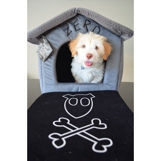 Disney Nightmare Before Christmas Zero Pet House Dog Bed with Detachable Top