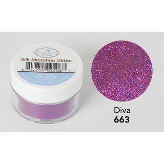 Elizabeth Craft Silk Microfine Glitter .5oz Diva
