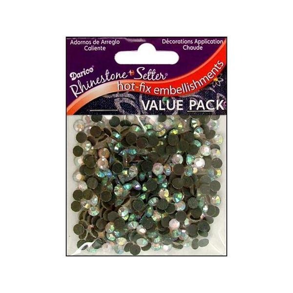 Darice Hot Fix Glass Stone 5mm Crystal 400pc