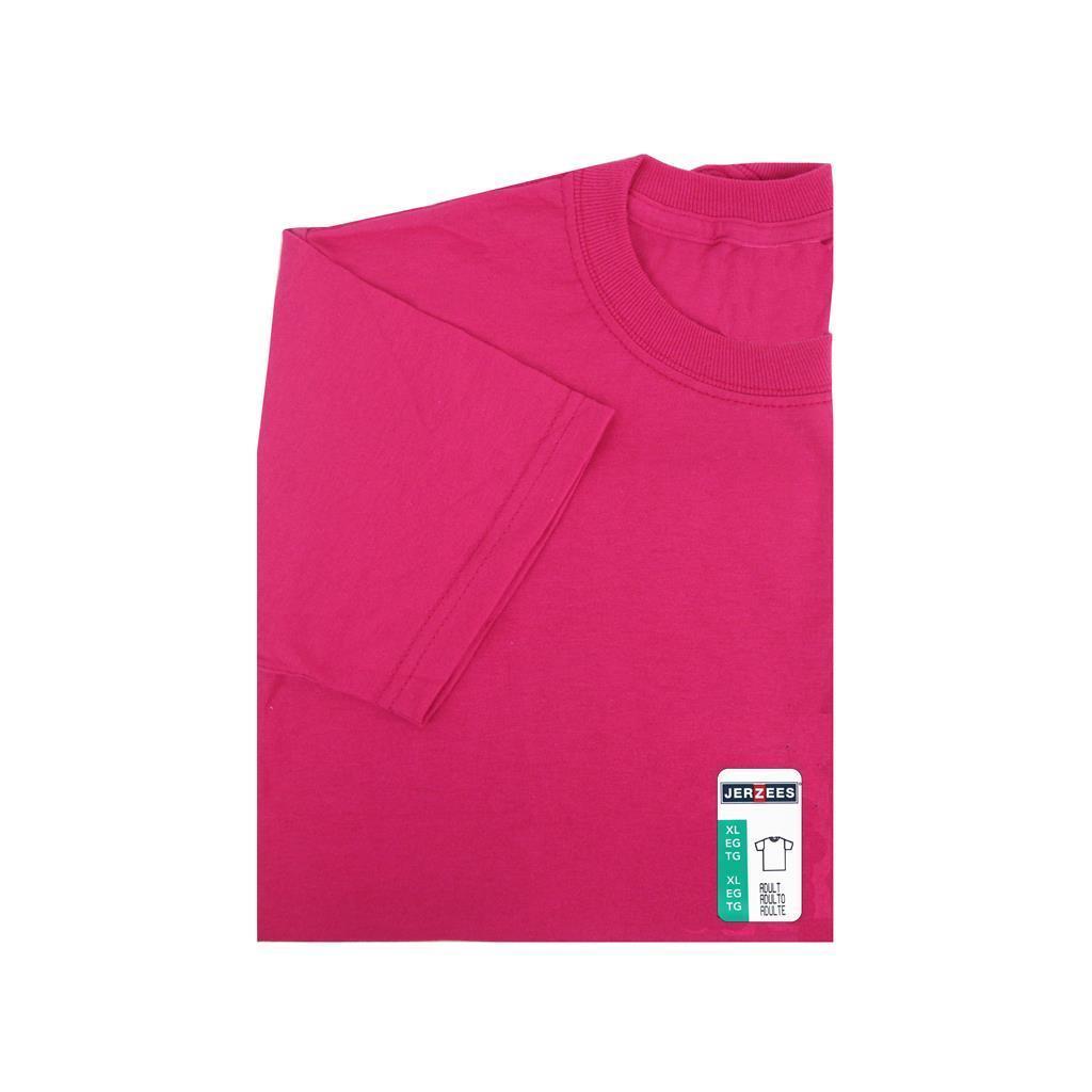 078de746 Jerzees TShirt Adult XLarge Cyber Pink 42463021284   eBay